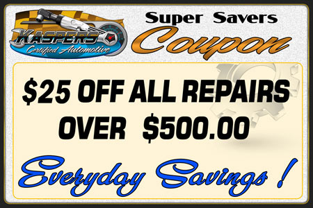 Download And Print Kaspers Korner New Jersey Auto Repair $25 Off Super Saver's Coupon